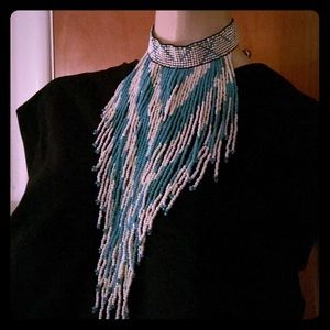 Beaded Indian style Statement Chocker Neck Piece